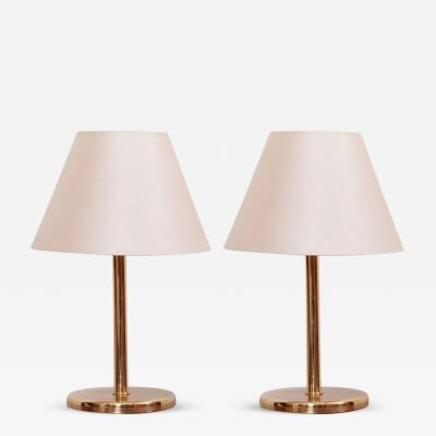 Cosack Leuchten Pair of 1970s Brass Table Lamps by Cosack Lights Germany