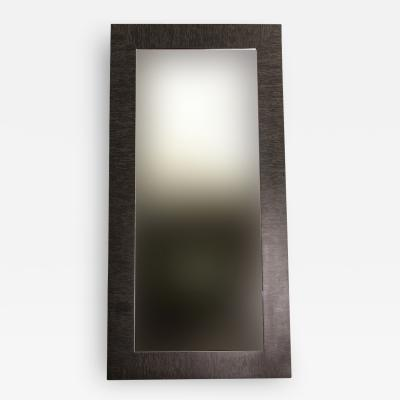 Costantini Design Black Maple Wood Large Standing Mirror from Costantini In Stock