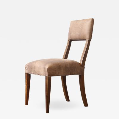 Costantini Design Luca High back Dining Chair from Costantini in Argentine Rosewood and Leather