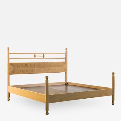Costantini Design Modern Solid Exotic Wood Bed from Costantini Luigi In Stock