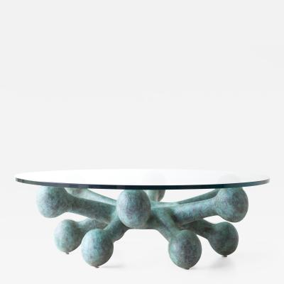 Craft Associates Bronze Coffee Table for Craft Associates