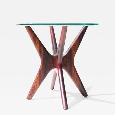 Craft Associates Craft Associates Modern Rosewood Side Table