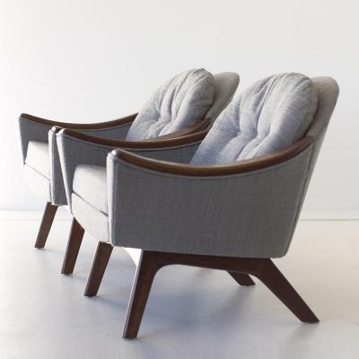 Craft Associates Craft Associates Wood Arm Club Chair 1516