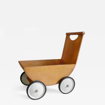 Creative Playthings Wooden Stroller by Creative Playthings
