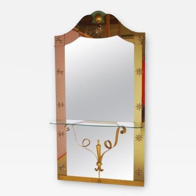 Cristal Art Console Mirror