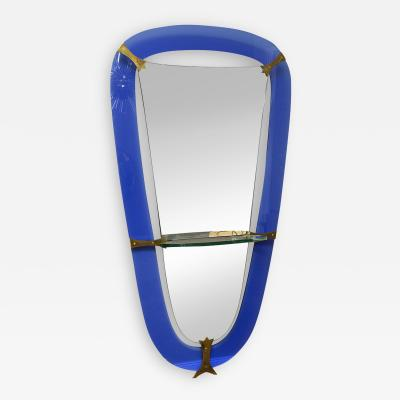 Cristal Art Large Standing mirror by Cristal Art Italy circa 1955