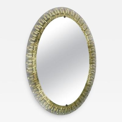 Cristal Art Oval Mirror by Cristal Art