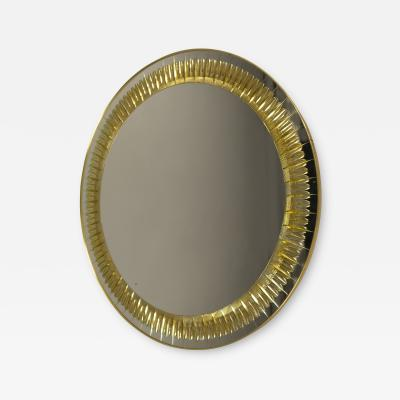Cristal Arte Mirror by Cristal Arte Italy 1950s