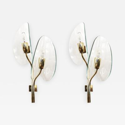 Cristal Arte Pair of Cristal Art Wall Lights