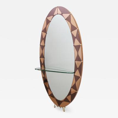 Cristal Arte Rare Cristal Arte Oval Mirror