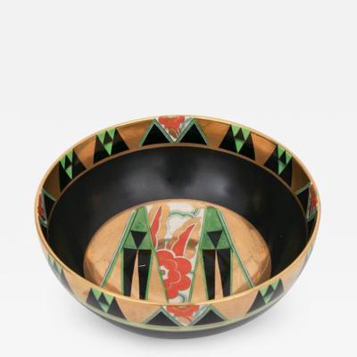 Crown Devon Art Deco Orient Bowl by Crown Devon