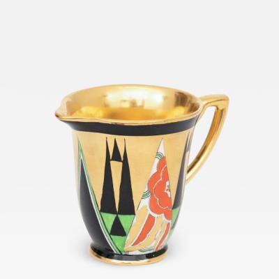 Crown Devon Art Deco Orient Cream Jug by Crown Devon