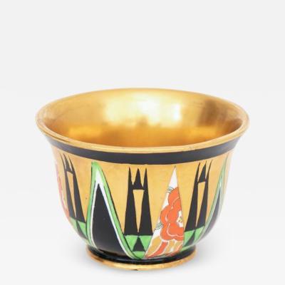 Crown Devon Art Deco Orient Sugar Bowl by Crown Devon