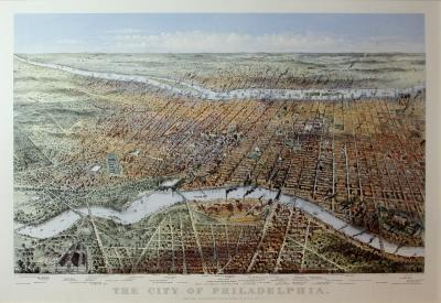 Currier and Ives The City of Philadelphia