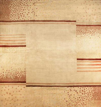 D I M Decoration Interieur Moderne c 1940 Original Wool Rug designed by D I M