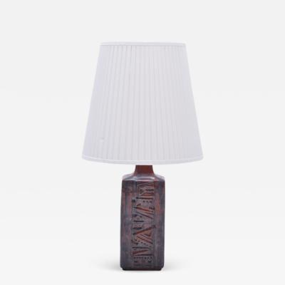 D sir e Stent j Danish Mid Century Modern Ceramic Table Lamp by Desiree Stentoj