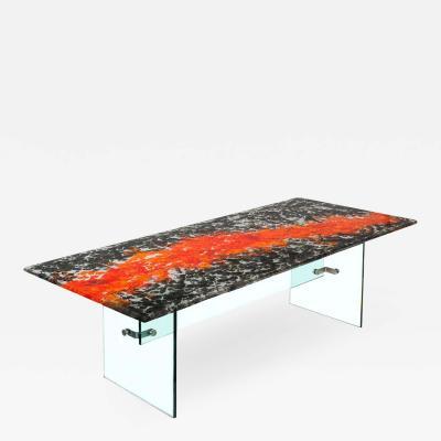 DESIGNLUSH BOILED GLASS DINING TABLES