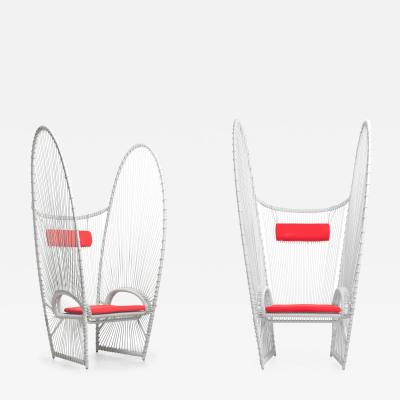 DESIGNLUSH LE PAPILLON OUTDOOR LOUNGE CHAIR