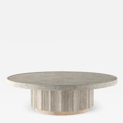 DESIGNLUSH PURE STONE COFFEE TABLE