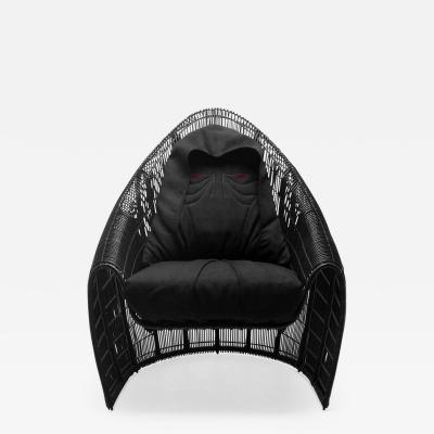DESIGNLUSH STAR WARS LIMITED EDITION SIDIOUS LOUNGE CHAIR INDOOR OUTDOOR