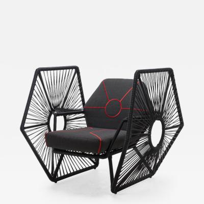 DESIGNLUSH STAR WARS TIE FIGHTER LIMITED EDITION INDOOR OUTDOOR LOUNGE CHAIR