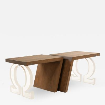 DWM MALOOS A Pair of Omega Tables