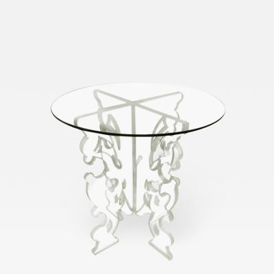 DWM MALOOS Baroque Lucite Base Game Table