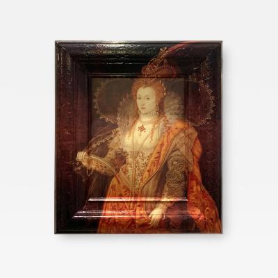 DWM MALOOS Elizabeth Runneth Over Framed Artwork Reinterpreted by DWM MALOOS