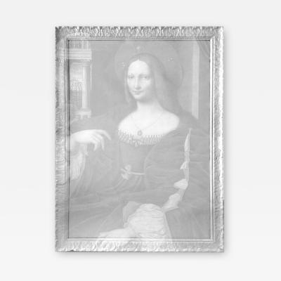 DWM MALOOS Isabella Runneth Over Framed Artwork Reinterpreted by DWM MALOOS