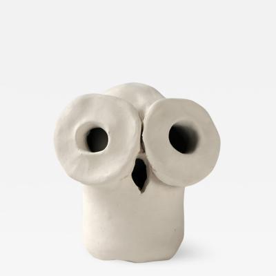 Dainche SUZY White ceramic owl