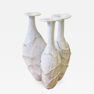 Dalo Biomorphic Ceramic Vase by Dalo