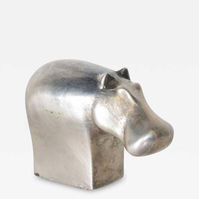 Dansk DANSK Designs HIPPO Paperweight Silver Mid Century Danish Modern