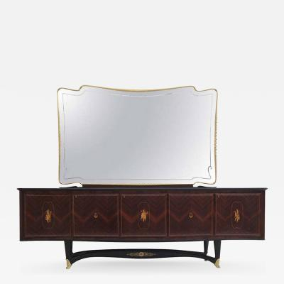 Dassi Rosewood Sideboard with Mirror by Dassi