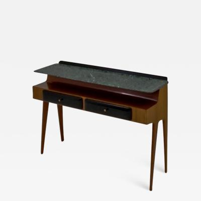 Dassi et Figli Amazing Console with Verde Alpi Marble Floating Top