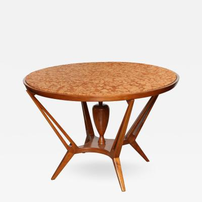 Dassi et Figli Dassi Round Marble Dining Table made in Italy 1955