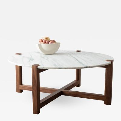 David Gaynor Design PIERCE ROUND COFFEE TABLE