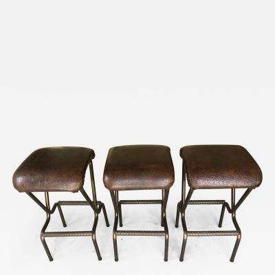 Daystrom A Set of Three Mid Century Modern Bar Stools by Daystrom
