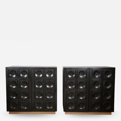 De Coene Brutalist mid century De Coene cabinets