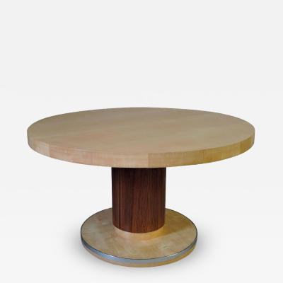 De Coene Fine Art Deco Round Dining Table by De Coene