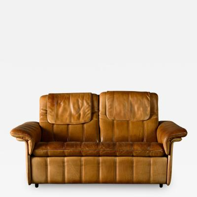 De Sede De Sede Brown Leather 2 Seater