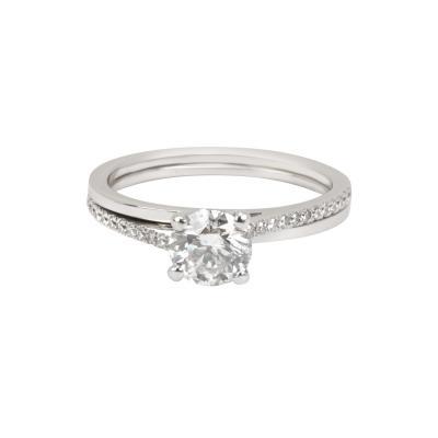 DeBeers DeBeers Promise Diamond Diamond Ring in Platinum G SI1 0 84 CTW