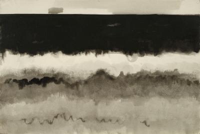 Debra Force Fine Art Breakers 1977 by Herman Maril 1908 1986