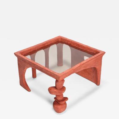 Decio Studio Cotta table by Decio Studio Made at alfa brussels for Everyday Gallery 2019