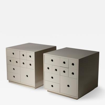 Delta Pair of Indro Storage Unit by Paolo Tommasi by Delta