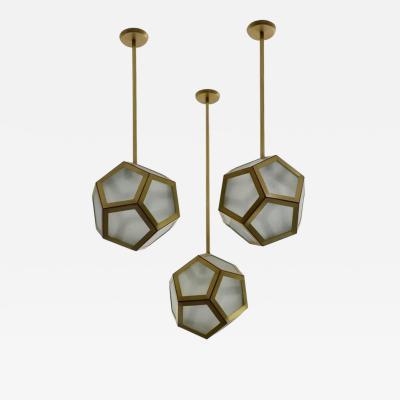 Design Fr res Cluster of 3 Pentagone Lanterns