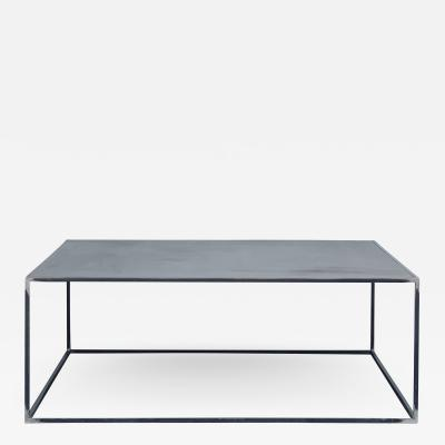 Design Fr res Huge Minimalist Filiforme Patinated Steel Coffee Table by Design Fr res
