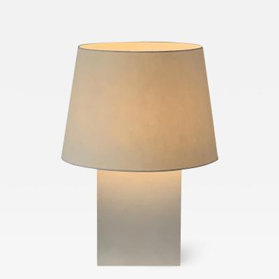 Design Fr res Pair of Large Bloc Parchment Table Lamps by Design Fr res