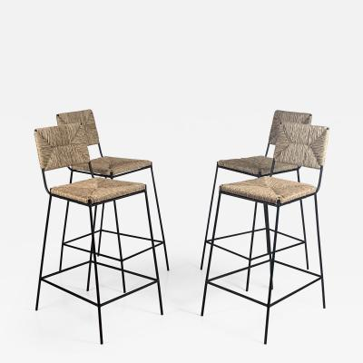 Design Fr res Set of 4 Campagne Counter Height Stools by Design Fr res