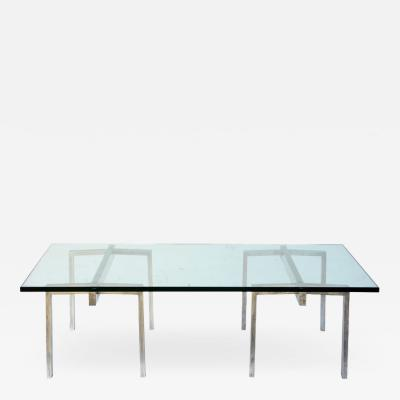 Design Fr res The Tr teaux Steel and Glass Coffee Table