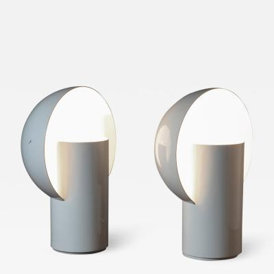 Design House Recanati Pair of Radar Table Lamps by Bimbi and Gioacchini for Design House